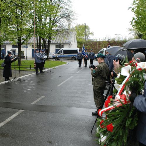 Małopolscy policjanci upamiętnili policjantów pomordowanych w 1940 roku przez NKWD